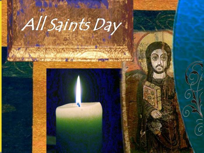 Litany for All Saints Day 2015