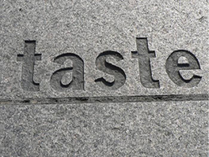 3. Taste
