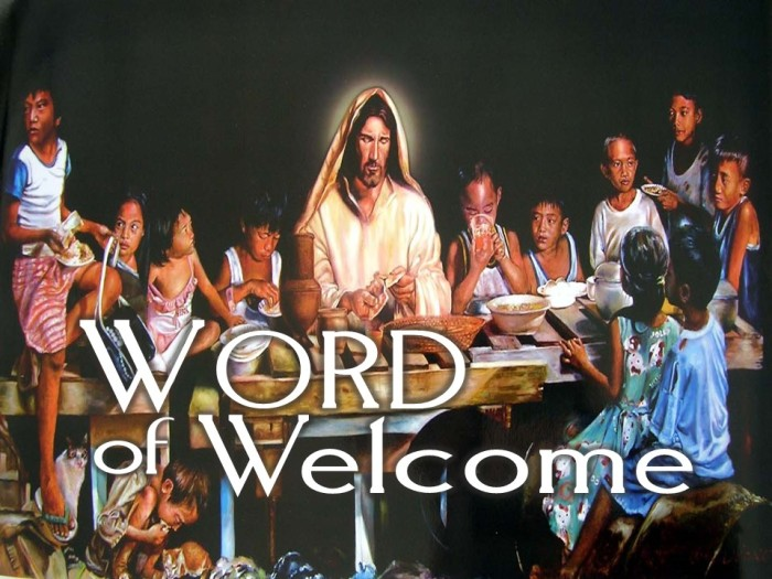 Advent 3: Word of Welcome